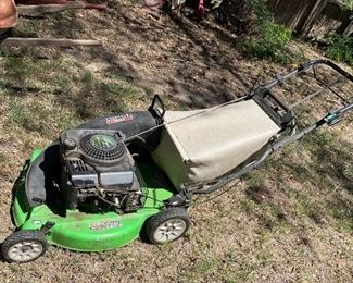 Lawnmower works great!