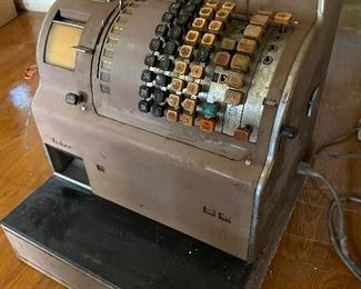 1950s cash register