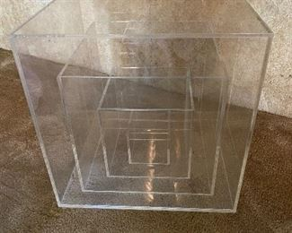 Awesome acrylic side table