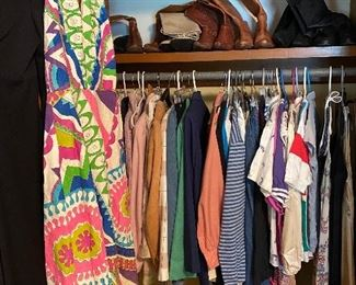 Assortment of vintage clothes!