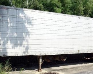 40' Rolling Storage Container Trailer, Contents Included