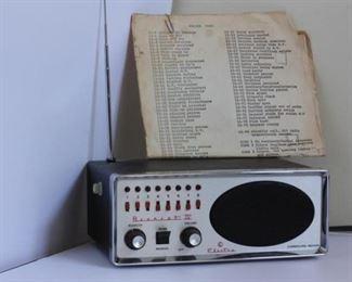 1960s Police Radio Scanner