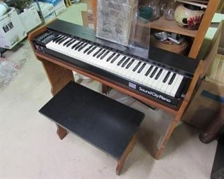 1970s Sound City Electric Piano Keyboard