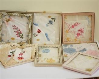 Lot of Vintage 1950s and 60s New Old Stock Womens Hankies