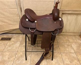 001 Billy Cook Cutting Saddle