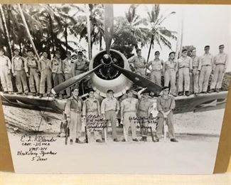 003 Black Sheep Squadron Signed Photo with Certificate