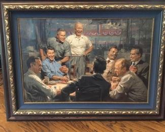 Grand Ol Gang Giclee by Andy Thomas