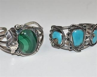 Pair Navajo Bracelets