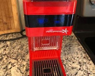 Illy Y3.2 Red Iperespresso Coffee Machine 230V 60286 $60