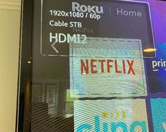 "Samung 60"" Wall mounted Smart TV $300 OBO"