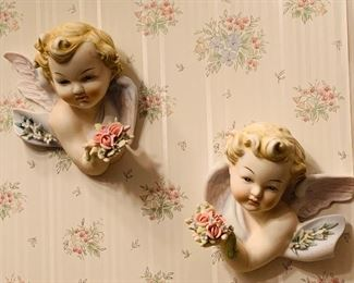 Lefton Vintage Cherubs.