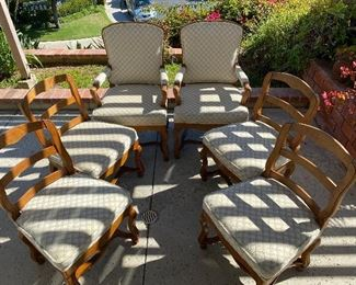 6 CHAIRS $80