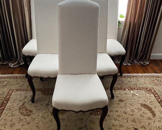 "Set of 6 ""Palecek"" Dining Chairs"