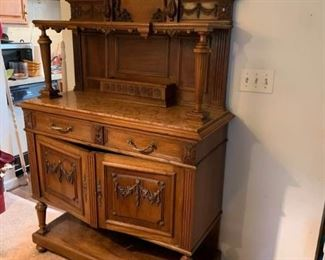 Exquisite Carved Sideboard