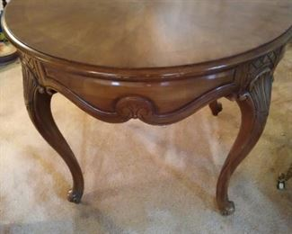 Weiman Round Table with Drawer