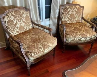 Old Hickory Tannery Down Filled Chairs -- $750 Set (Will Separate)
