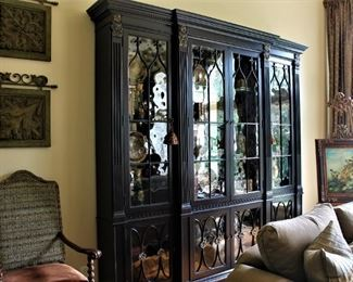 This Duke China Cabinet makes a grand statement.  By Drexel Heritage.