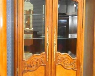 Century Furniture Co Display Cabinet