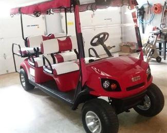 2019 EZ Go 6 Passenger Golf Cart