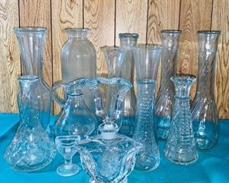 Cut Glass and Crystal Pieces