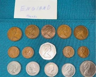 England Pounds