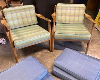 014rPair of DUX Danish Chairs