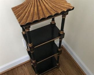 Oriental standing shelf