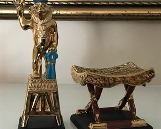 More of the King Tut collection.