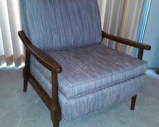 danish modern wood chair
