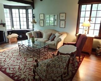 COTTAGE CHARM THRU OUT THE WHOLE HOME.