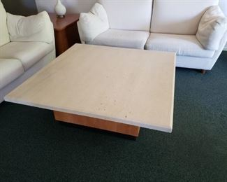 Beautiful Custom Made Slab Granite Coffee Table