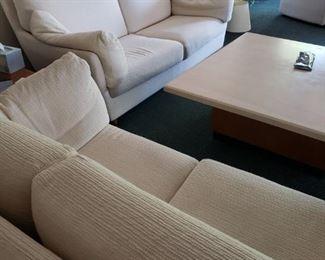 Scan Design wonderful Danish Furnishings - Love Sofa and Regular Sofa.