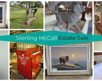 Sterling McCall Estate Sale - Auction at SlapSale.com. Pickup at 4212 South Texas 237, Warrenton TX 78954.