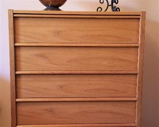 Mid-century modern Jesper Danish 5 drawer chest of drawers - matches the long dresser and bedside table - $350.00