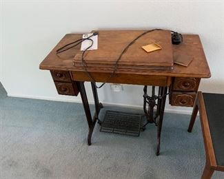 1940 Singer Sewing Table