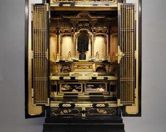 Japanese shrine cabinet