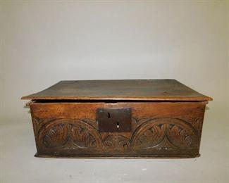 18th c. Bible box