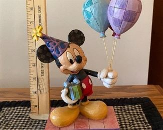 Jim Shore Mickey Mouse Cheerful Celebration $18.00