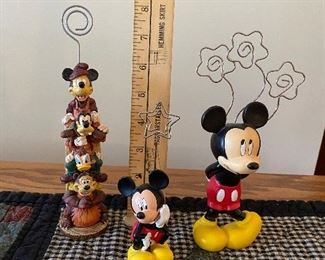 Three Disney Photo Holders $10.00