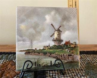Windmill Tile $5.00