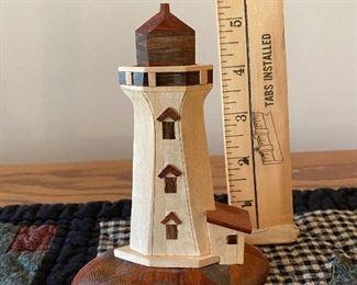 Wood Lighthouse $5.00