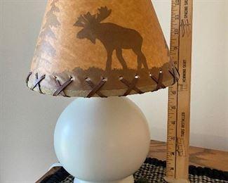 Moose Lamp $15.00