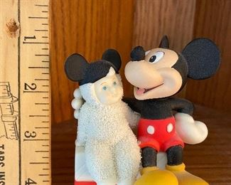 Mickey Mouse Snowbaby $5.00