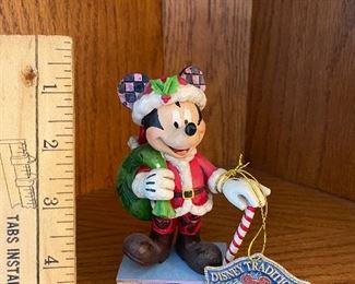 Jim Shore Disney Mickey Mouse Santa $14.00