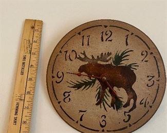 Moose Clock $5.00