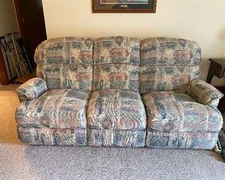 Reclining Sofa (both sides recline) $40.00