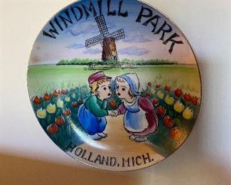 Windmill Park Holland Michigan Plate $5.00