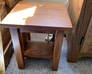 Small Mission Table $22.00