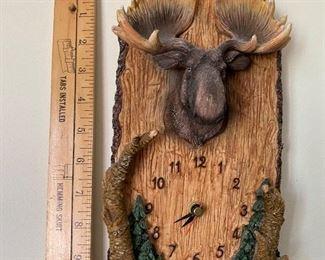 Moose Clock $8.00
