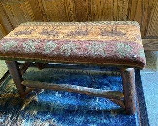Moose Woodland Bench $125.00